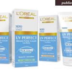 Publi: Lançamento L'Oréal UV Perfect e Sorteio