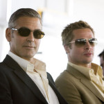 Ô, lá em casa… Brad Pitt & George Clooney
