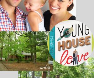 Não é make, mas é demais: Young House Love