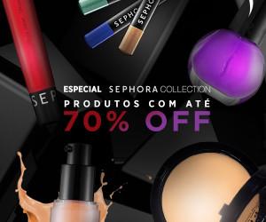 Sephora Collection com super descontos *