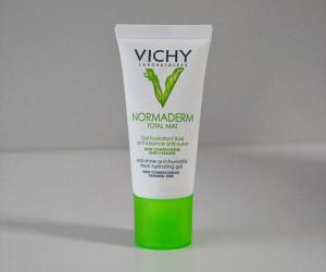 Produtos e Cuidados com a Pele: Gel Hidratante Vichy Normaderm Total Mat