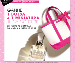 Especial Juicy Couture no site da Sephora *