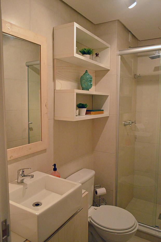 decoracao banheiro de escritorio:Ap & Decoração: Escritório, closet e banheiro de visitas