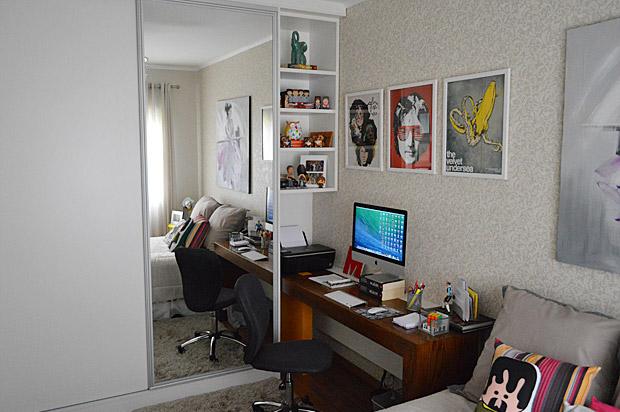 Ap & Decoração Escritório, closet e banheiro de visitas
