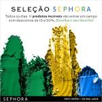 Seleção Sephora: Itens com até 50% de desconto *