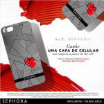 Promo Capa de iPhone Sephora *