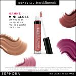 Especial bareMinerals no site da Sephora *