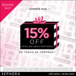 Boxing Day no site da Sephora *