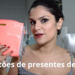 Vídeo: Sugestões de presentes de Natal