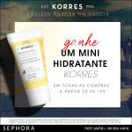Ação Sephora + Korres *