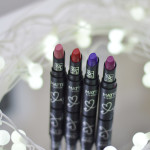 Boca Colorida: Batons Matte RK by Kiss (cores Nude Rose, Kiss Red, Purple Affair e Plum Wine)