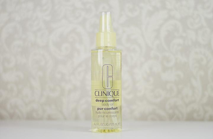 Produtos e Cuidados com a Pele: Clinique Deep Comfort Body Oil