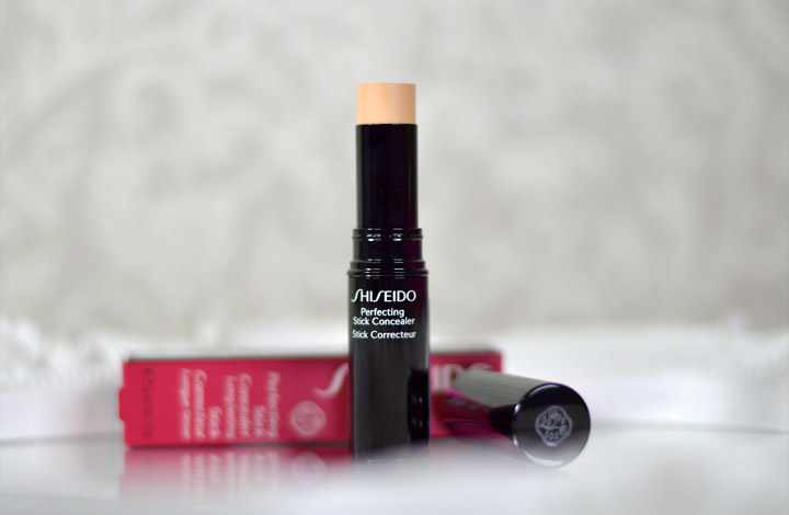 Resenha: Shiseido Perfecting Stick Concealer