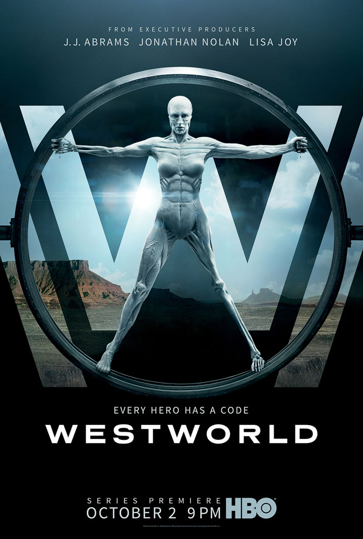 N�o � make, mas � demais: Westworld